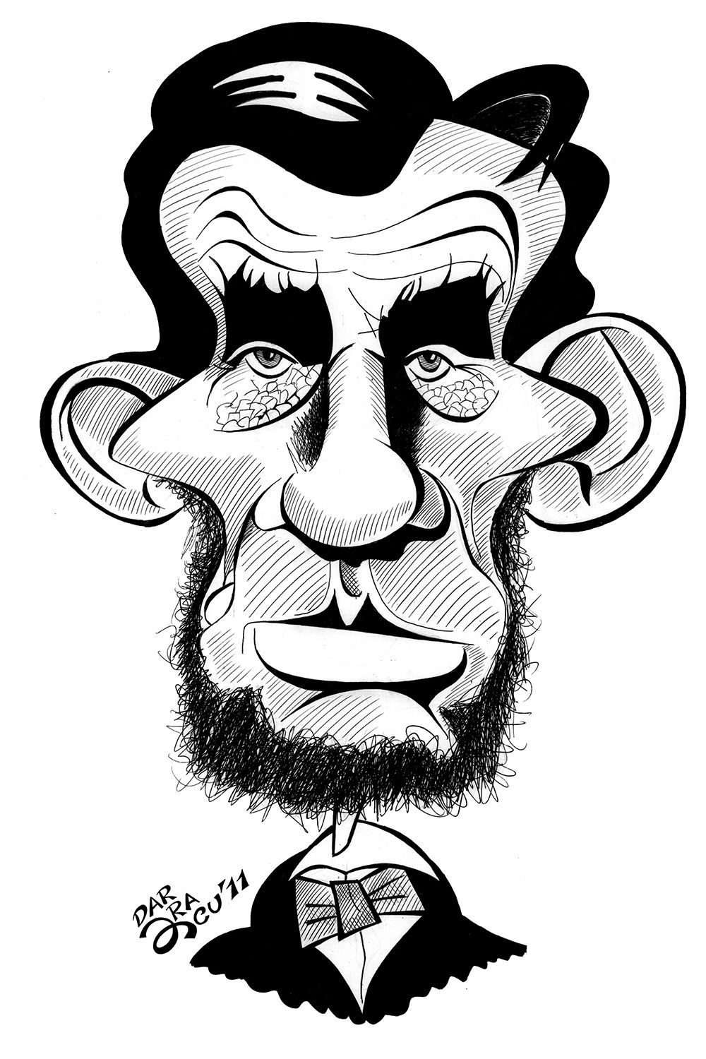 1000x1500 caricature of lincoln abraham lincoln caricature, funny