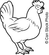 160x179 Chicken Illustration An Of A Could Be Food Label Or Menu Icon