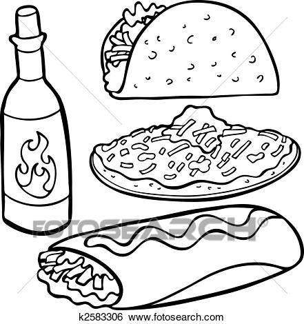 441x470 Food Line Clipart Clip Art Images