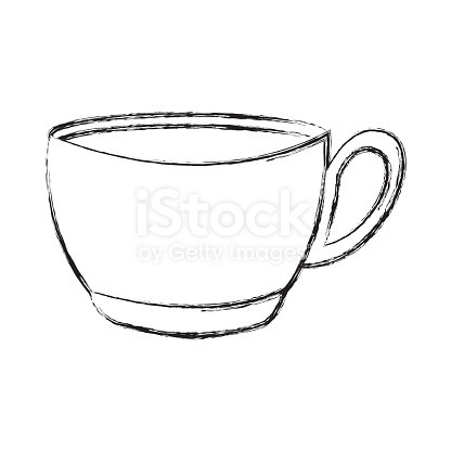 416x416 How To Draw A Coffee Cup How To Draw A Cup Of Coffee Letter Alimy Us