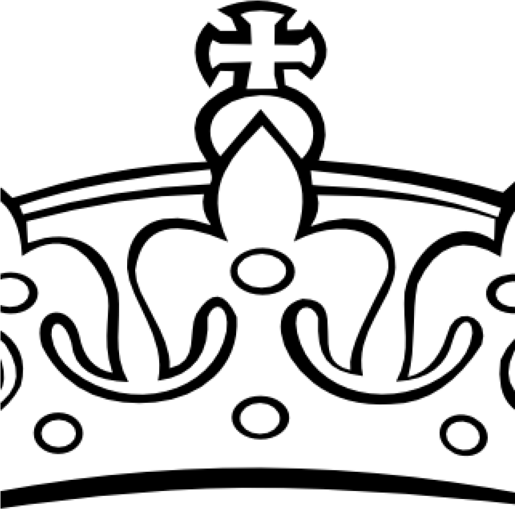 1025x1013 Hd Crown Clipart Princess Crown Clipart Black And White