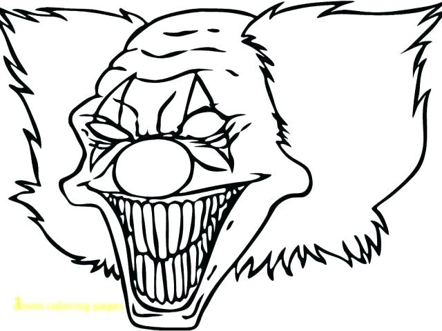 640x480 Drawing Clowns Drawings Of Clowns Scary Clowns Drawings Drawing
