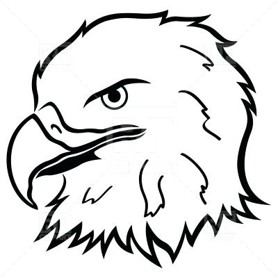 400x400 Coloring Bald Eagle Pictures Line Drawing Outline Free
