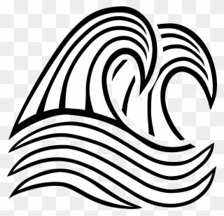 320x308 line art wind wave drawing breaking wave