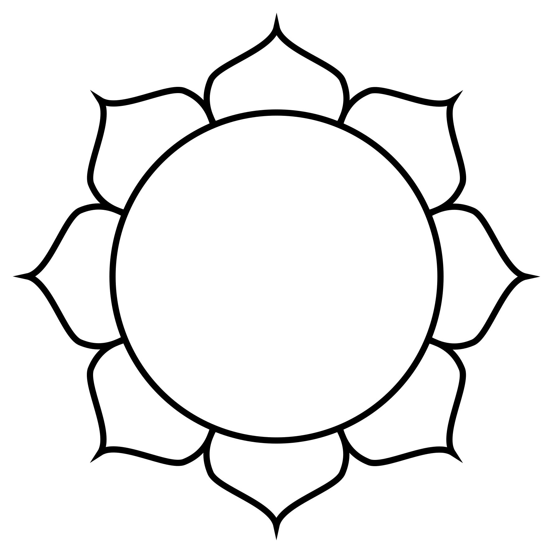 1776x1776 Lotus Flower Line Design