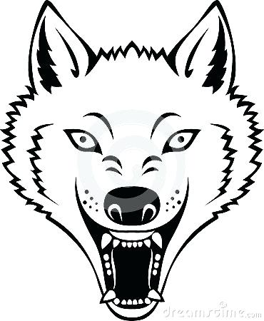 370x450 wolf face outline wolf head drawing outline wolf head drawing