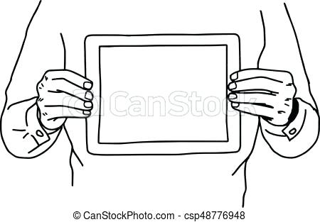 450x313 Drawing Of Two Hands Holding Two Hands Holding A Stock Vector
