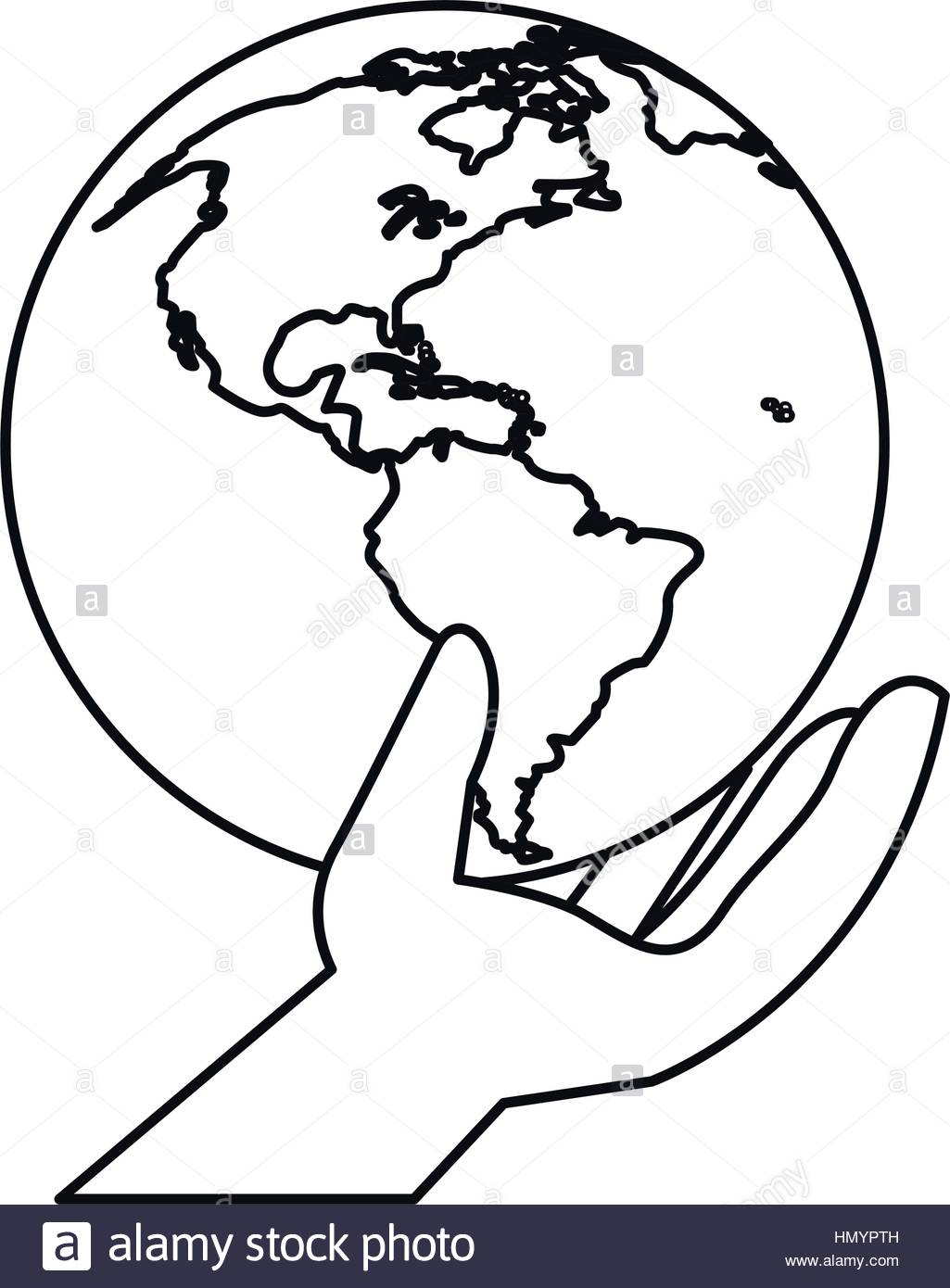 1025x1390 Huge Collection Of 'hand Holding Earth Drawing' Download More