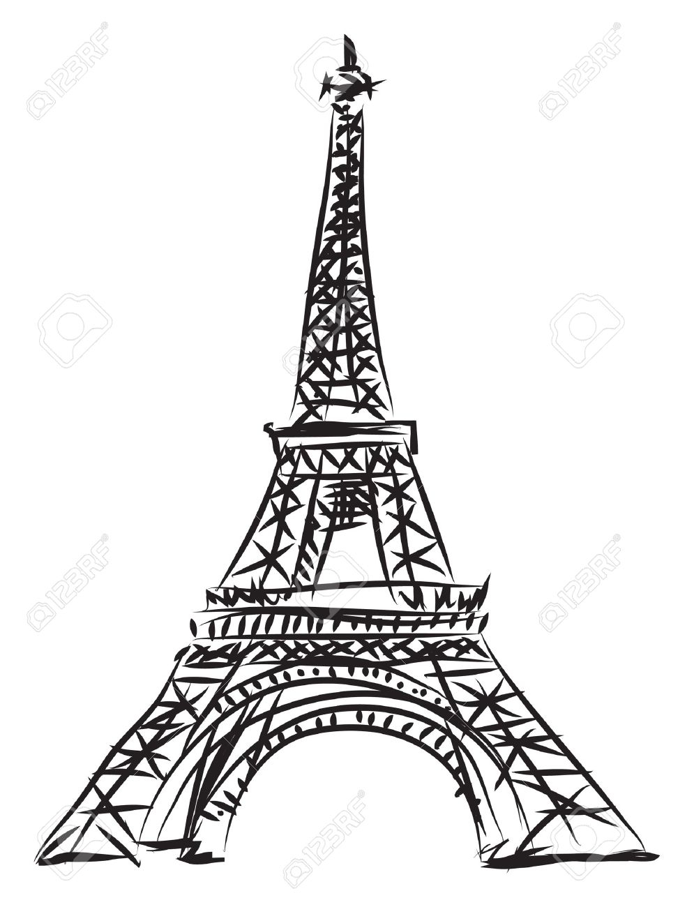 995x1300 Collection Of Free Eiffel Clipart Drawing Amusement Clipart