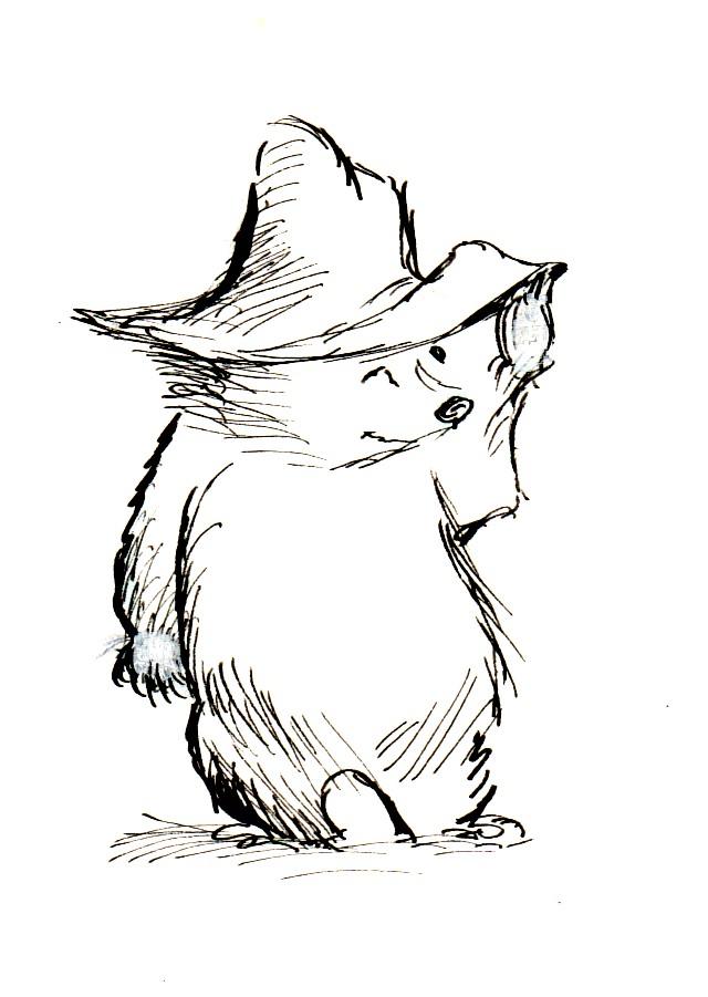 640x901 Michael Bond's Paddington Bear Books Illustrations