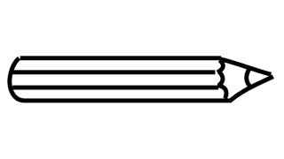 320x180 Pencil Animation Illustration Line Drawing Transparent Background