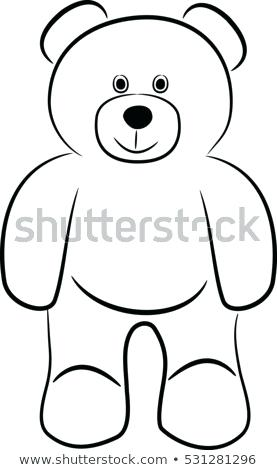 277x470 Simple Teddy Bear Drawing