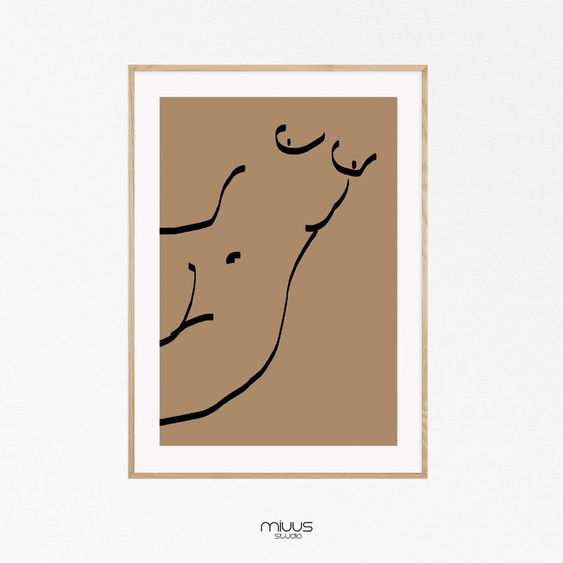 794x794 Pencil Drawing Erotic Wall Art Neutral Wall Art Etsy