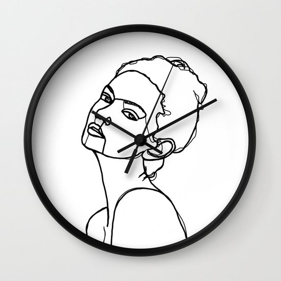 550x550 Women Face One Line Drawing