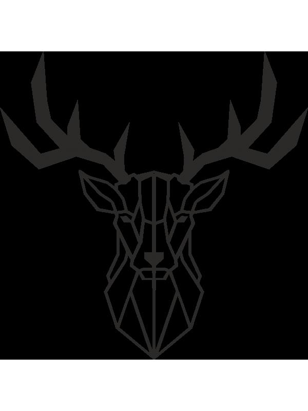 600x800 Deer Metal Wall Art Decor