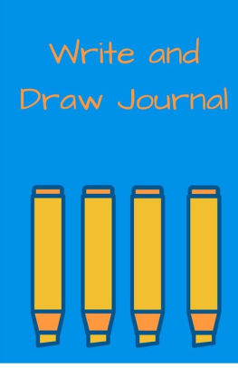 263x406 write and draw journal pencil journal, blue, daily diary, blank