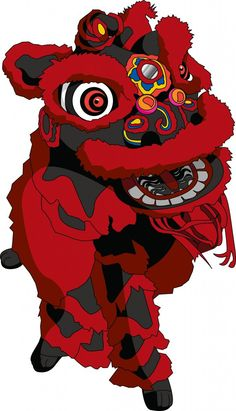 Lion Dance Drawing