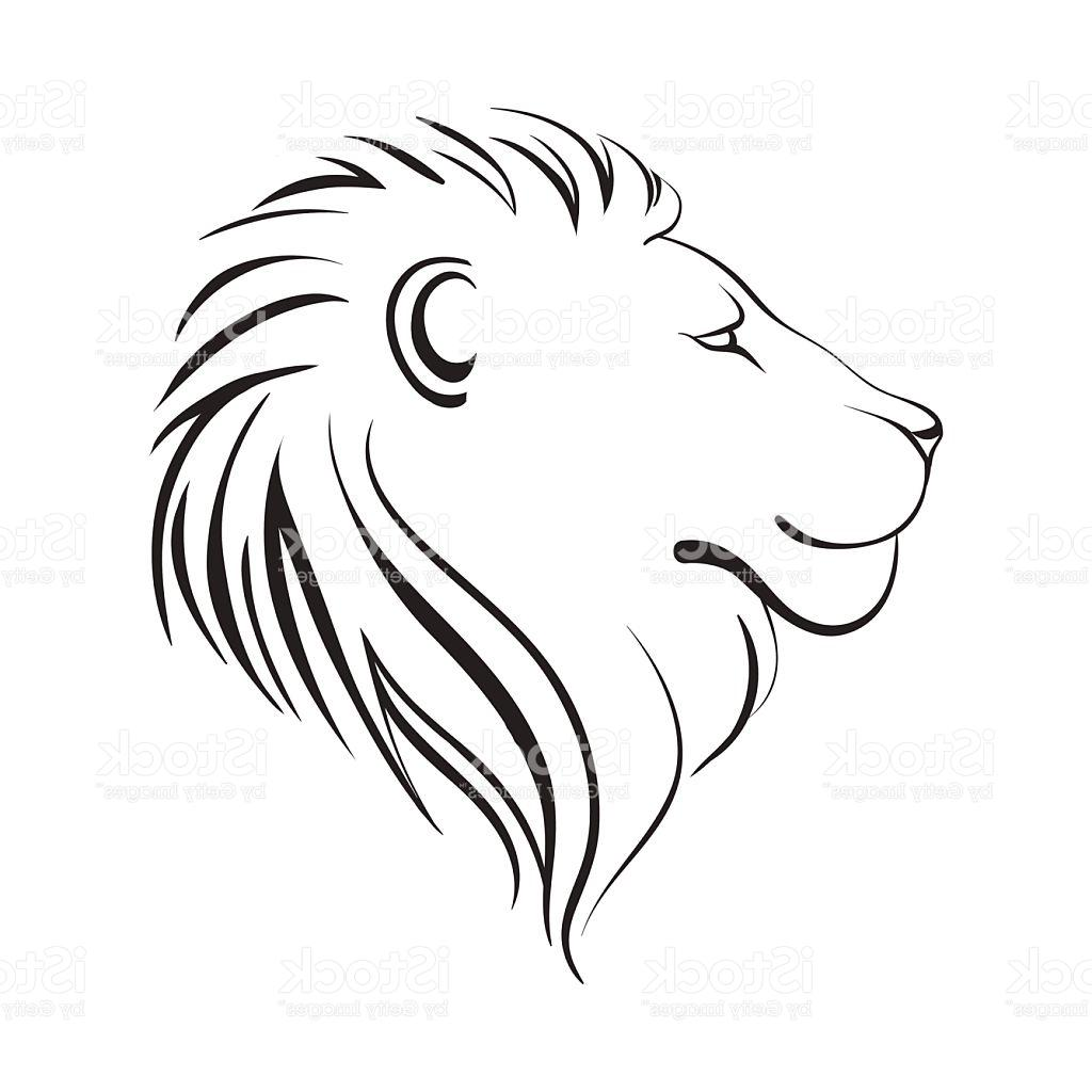 1024x1024 How To Draw A Lion Face For Beginners