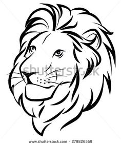 236x283 Best Cartoon Lion Images Animal Drawings, Drawings, Sketches
