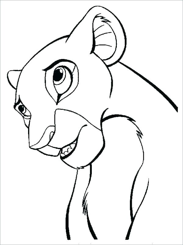 600x802 The Lion King Drawing How To Draw The Lion King Step