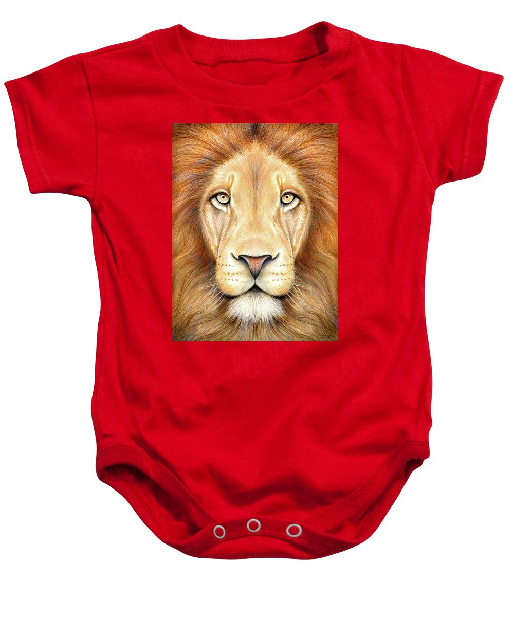 1000x1200 Lion Head In Color Onesie For Sale