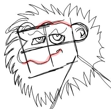 353x348 How To Draw Cartoon Lions Jungle Animals Step