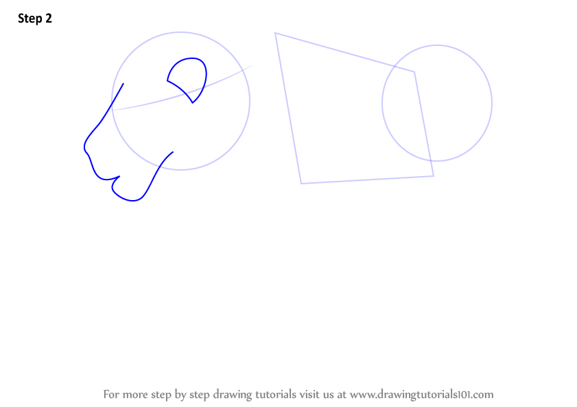 841x594 Learn How To Draw A Lion