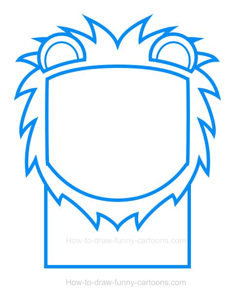 520x614 Lion Clipart