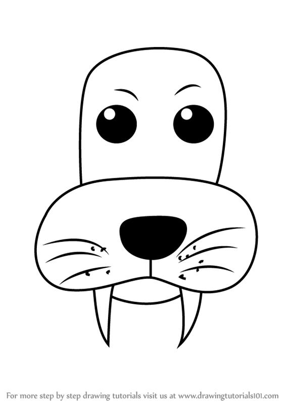566x800 Lion Face Sketch Simple