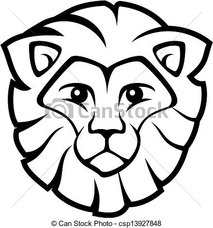 440x470 How To Draw A Lion Roaring Easy