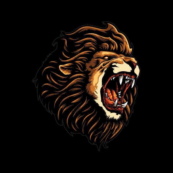 600x600 Transparent Lion Roaring Huge Freebie! Download For Powerpoint