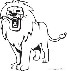 236x250 Lovely Ideas Picture Of Lion To Color Coloring