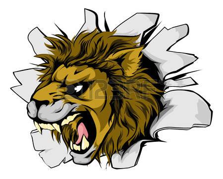 450x361 mountain lion clipart roaring lion