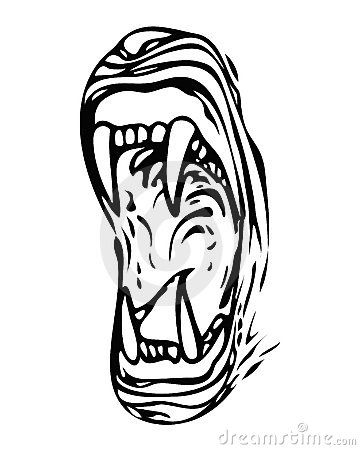360x450 Collection Of 'lion Mouth Drawing' Download More Than Images