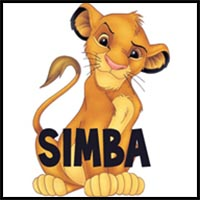 200x200 How To Draw Disney's The Lion King Cartoon Characters Drawing