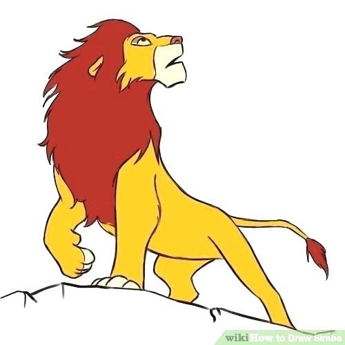 500x500 Simba Color Coloring Pages Lion King Coloring Pages Free Printable