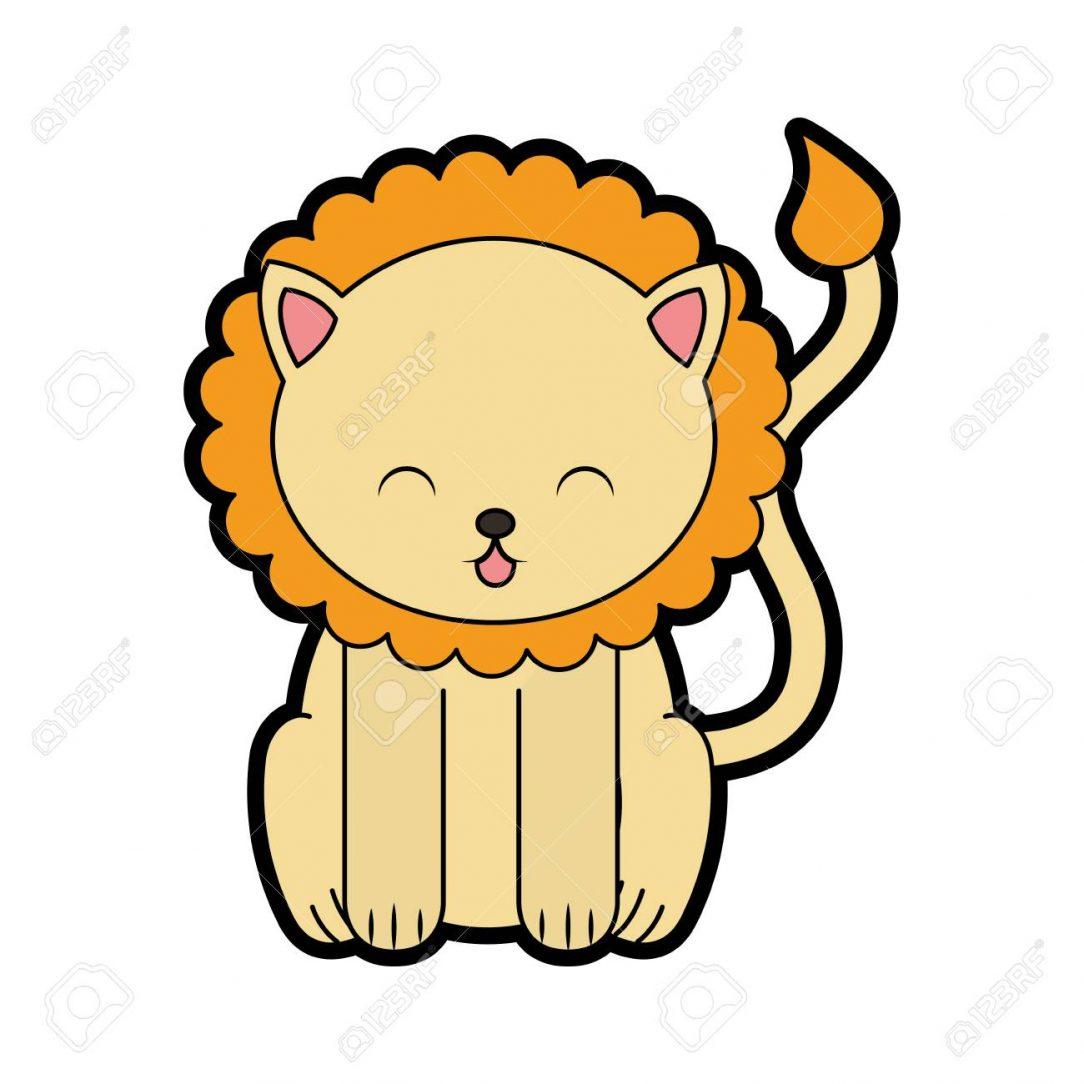1084x1084 Cute Lion King Dance Drawing A Little Face Baby I Fertility
