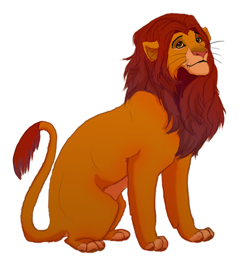 Lion King Simba Drawing
