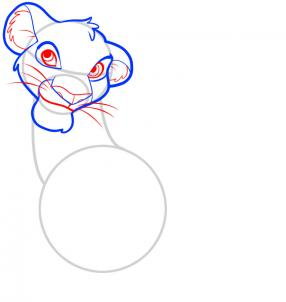 286x302 How To Draw How To Draw Simba, Lion King
