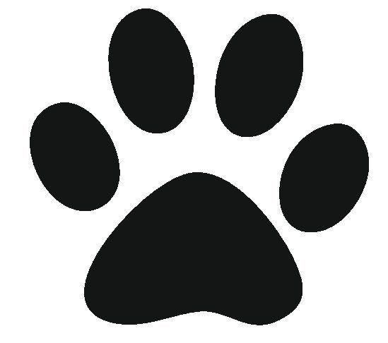 549x486 lion paw print stencil crafts paw print art, paw