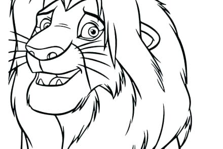 440x294 how to draw lion king simba how to draw lion king step draw lion