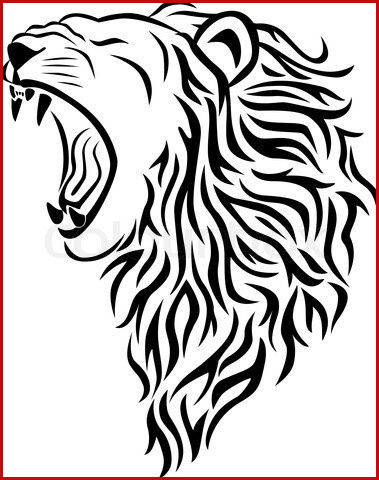379x480 Lion Head Drawing Awesome Drawings Lions Ttnyfo