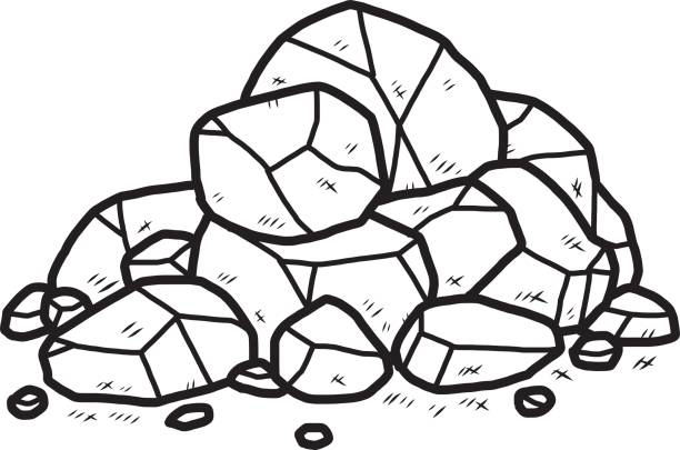 612x405 Top Pile Of Rocks Clip Art Vector Graphics And Illustrations