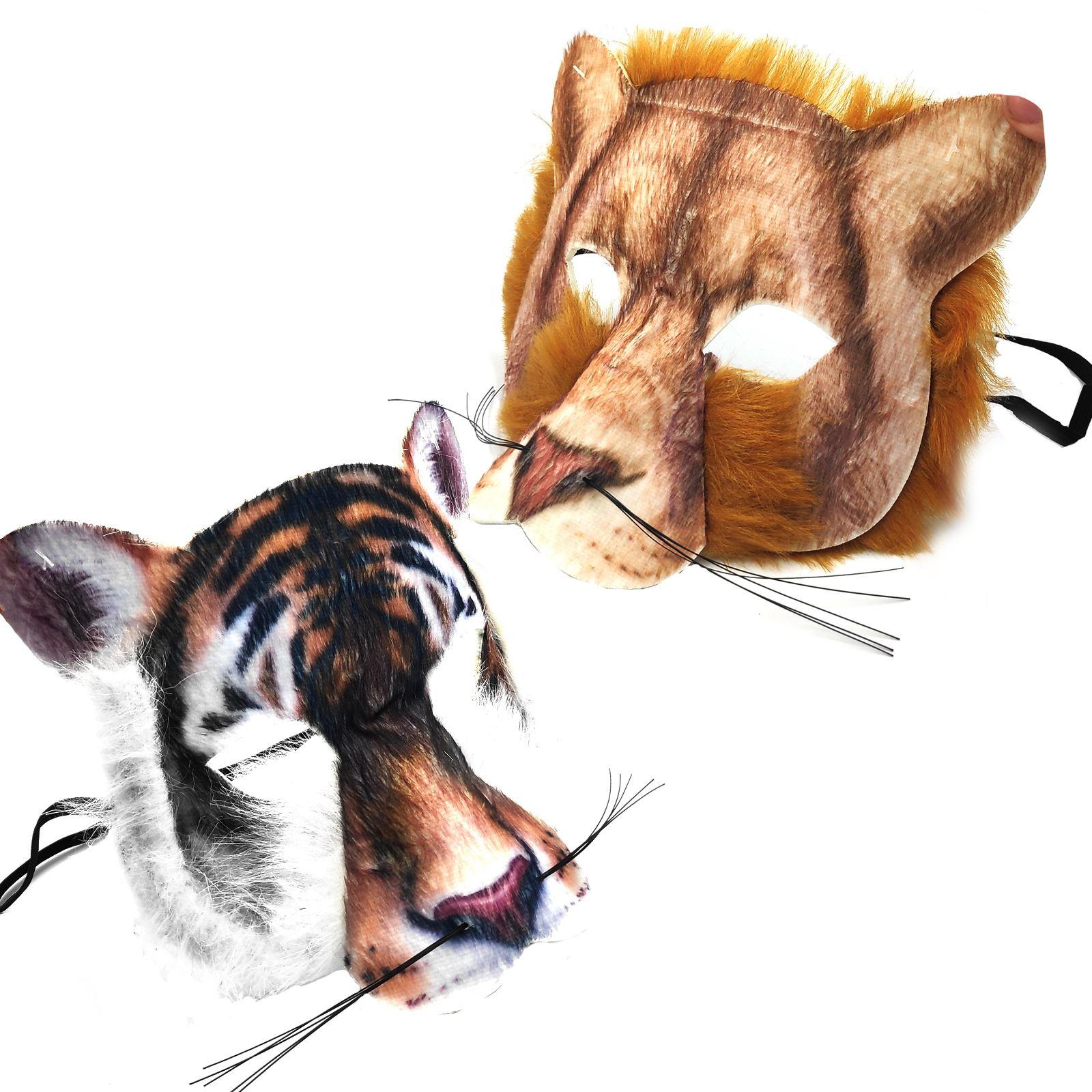1600x1600 Adult Kids Big Cat Lion Tiger Jungle Fancy Dress Carnival Book