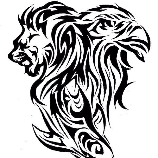 Lion Tattoo Drawing