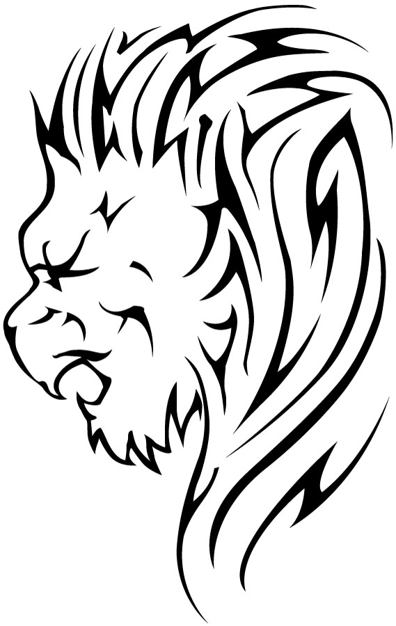 Lion Tattoo Drawing Free Download Best Lion Tattoo Drawing On