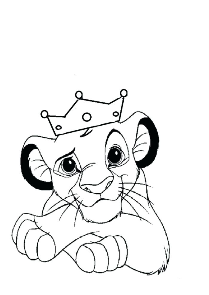 700x989 lion king coloring pages king with the crown lion king coloring