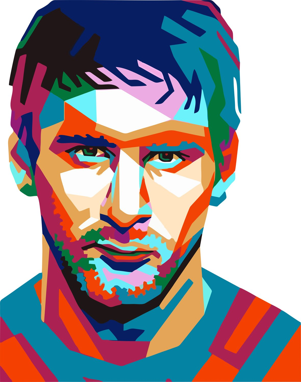 1181x1500 art bundlemessi fan art decorative poster lionel messi poster