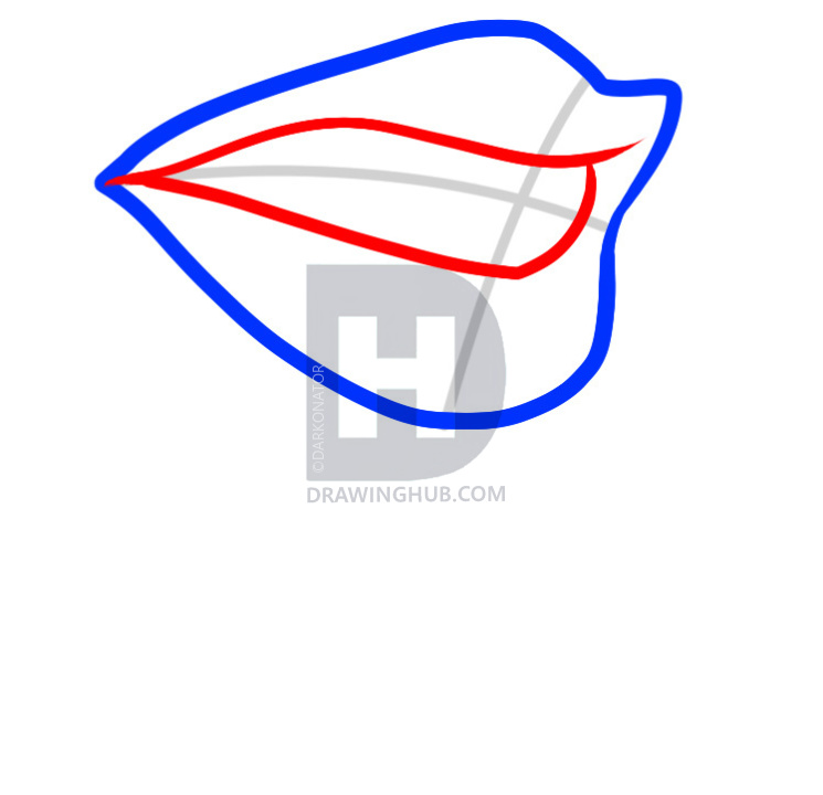 745x720 how to draw a vampire mouth, vampire mouth, step