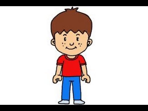 480x360 How To Draw A Little Boy
